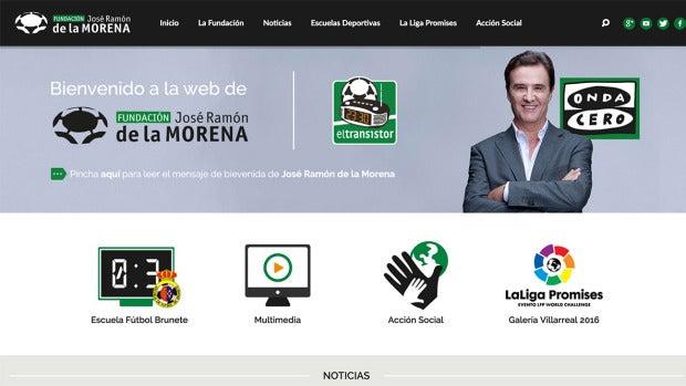 Web de la Fundación José Ramón de la Morena