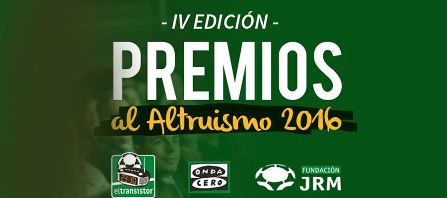 Premios al altruismo 2016 de las Fundación José Ramón de la Morena