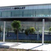 Fachada del hospital de Mollet del Vallès
