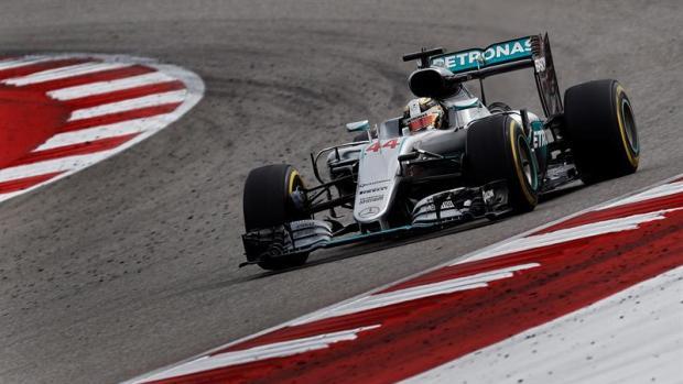 Hamilton en el GP de Estados Unidos