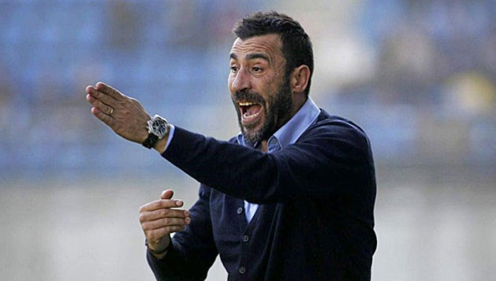 Raúl Agné. nuevo entrenador del Zaragoza