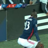 Kei Kamara celebra su gol haciendo 'twerking'