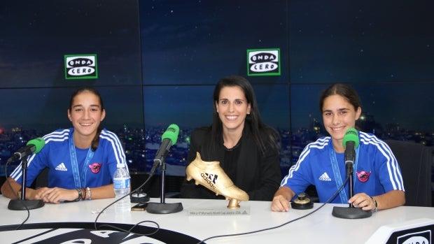 """Ana Rosell, del CD Tacón: """"Hace tres años presentamos un proyecto al Real Madrid para crear una sección femenina de fútbol"""""""