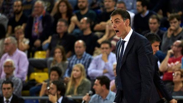 El entrenador del FC Barcelona Lassa, el griego Georgios Bartzokas.