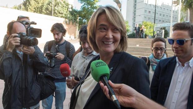 La diputada provincial y portavoz del PP en Motril (Granada), Luisa García Chamorro