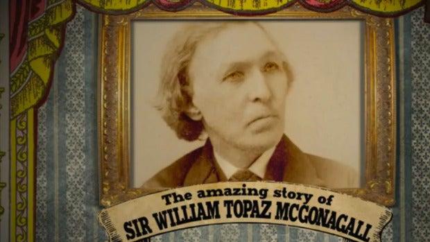 William McGonagall, el peor poeta de la historia