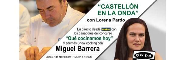 SHOW COOCKING MIGUEL BARRERA
