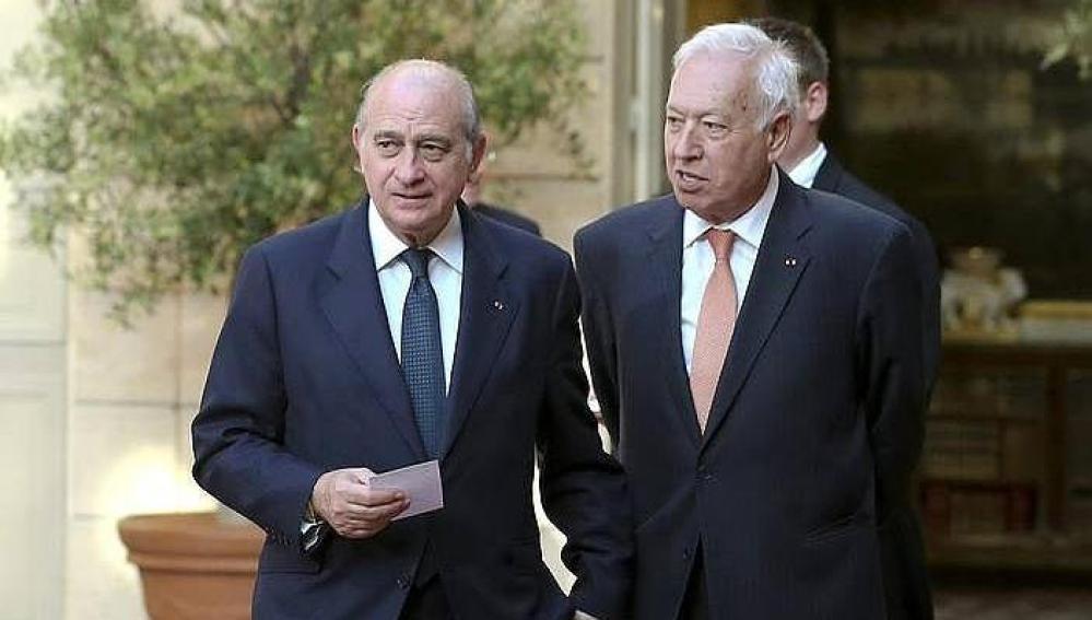 Jorge Fernández Díaz y José Manuel García-Margallo