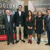 La presentación de las obras galardonadas en los Premios Planeta