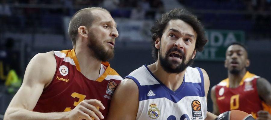 Sergio Llull ante el Galatasaray