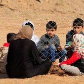 Niños en Mosul