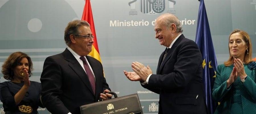 Ondacero radio zoido a las fuerzas de seguridad for Ministro del interior espana 2016