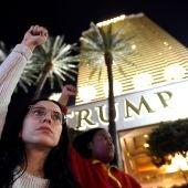 Protestas ante la 'Torre Trump'