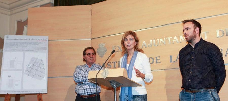 Durante la presentación del proyecto la alcaldesa, Amparo Marco, asegura que regenerará el barrio.