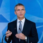 El secretario general de la OTAN, Jens Stoltenberg,
