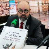 Carlos Ruiz Zafón presenta 'El laberinto de los espíritus'