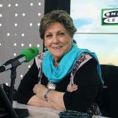 Paloma Gómez Borrero en los micrófonos de Onda Cero