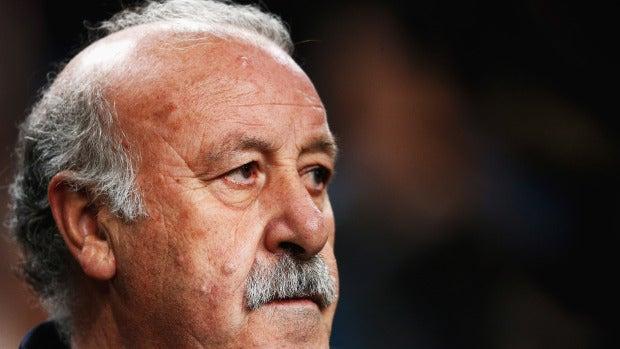 """Del Bosque: """"El partido ha estado igualado pero se veía que la Juventus no tenía muchas opciones"""""""