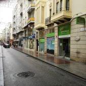 La calle Corredora de Elche que será peatonalizada.
