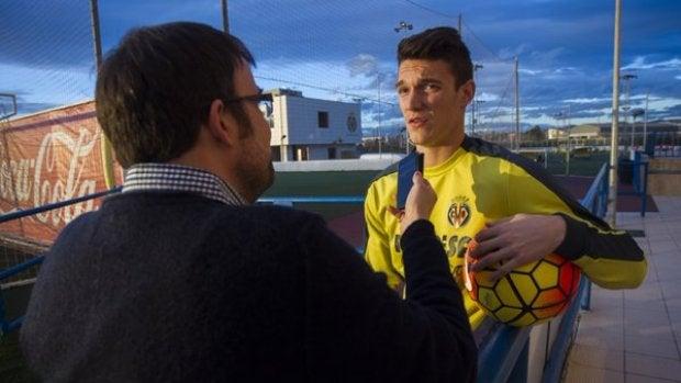 El futbolista Adrián Marín