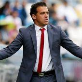 El entrenador Luis García Plaza