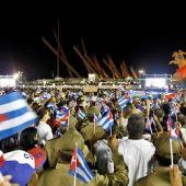 Ceremonia Fidel Castro Santiago