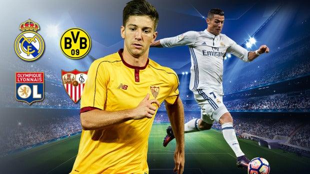 Liga de Campeones | Real Madrid - Dortmund y Lyon - Sevilla