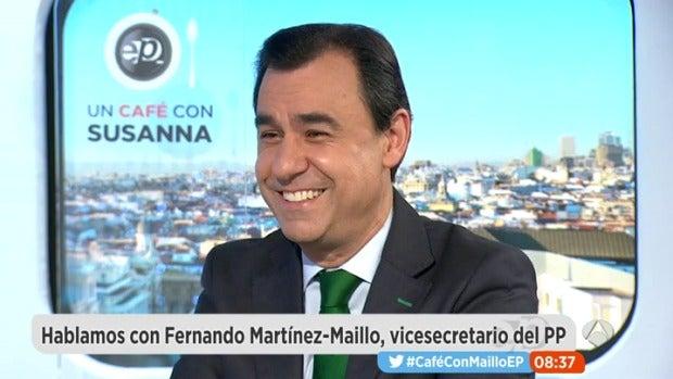 """Martínez Maillo: """"Vamos a reformar la Constitución siempre y cuando haya consenso"""""""