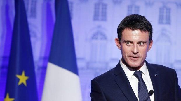 Manuel Valls anunciará este lunes su candidatura a la Presidencia de Francia