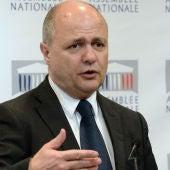 El ministro del Interior francés, Bruno Le Roux