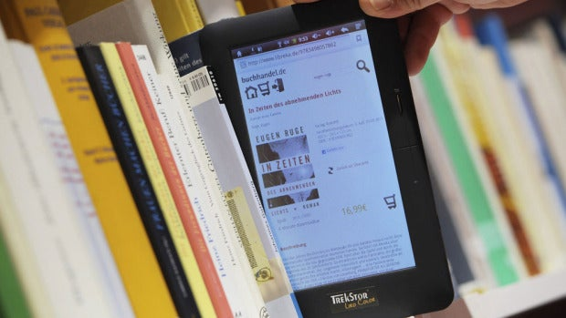 Imagen de archivo de un ebook