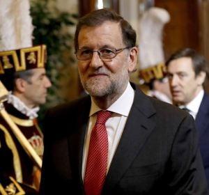 Rajoy en los actos de celebración del aniversario de la Constitución