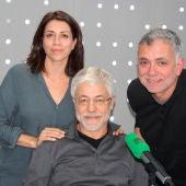 Alicia Borrachero, Juan Carlos Corazza y Juan Ramón Lucas