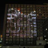 Simulacro de un ataque en el hospital La Paz
