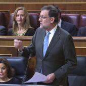 "Frame 26.934315 de: Rajoy acusa al PSOE de ""sobreactuar"" al decir que en España hay problemas de libertad de expresión"