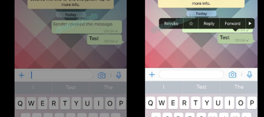 Whatsapp permitirá borrar mensajes