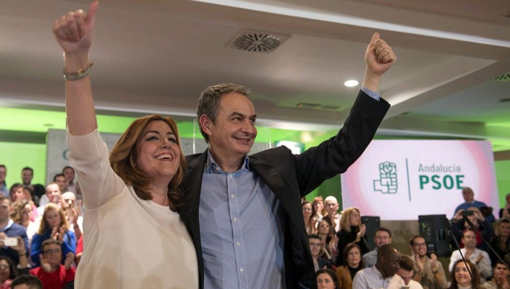 Susana Díaz José Luis Rodríguez Zapatero