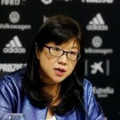Layhoon Chan, presidenta del Valencia