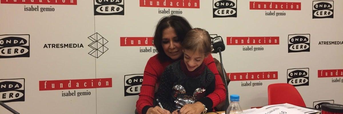 Isabel Gemio en el Fin de semana solidario