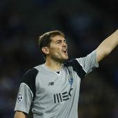Casillas, con el Oporto