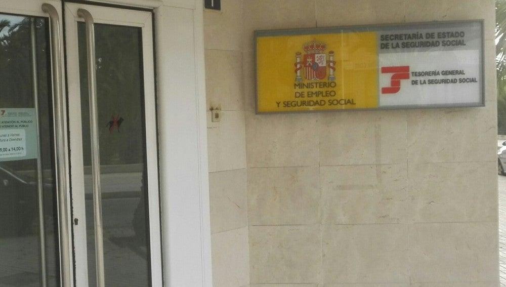 Tesoreria General de la Seguridad Social en Elche.