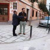 El concejal de Ordenación del Territorio, Rafa Simó, que ha firmado la recepción de las obras.