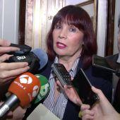 """Frame 0.0 de: Micaela Navarro cree que la reunión de los afines a Pedro Sánchez """"no ayuda"""" al PSOE"""