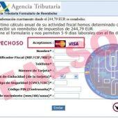 Conocido phishing de la renta