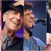 David Bowie, Leonard Cohen, Manolo Tenna o George Michael nos han dejado este 2016