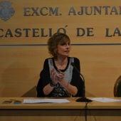 La concejal de cultura, Verónica Ruíz.