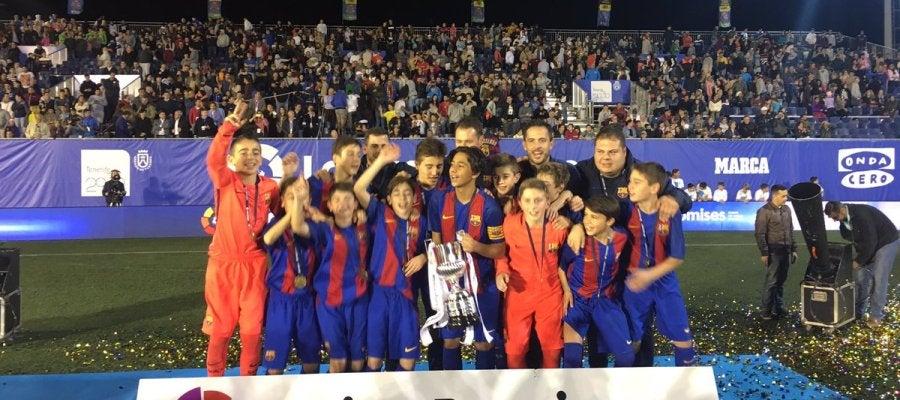 El Barcelona gana LaLiga Promises