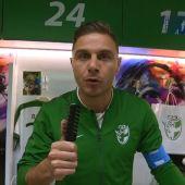Joaquín Sánchez, durante el 'mannequin challenge'