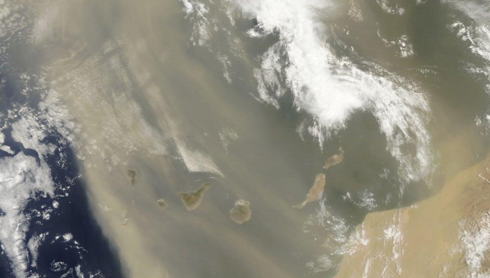 Calima en Canarias