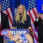 Donald Trump con su hija Ivanka Trump.